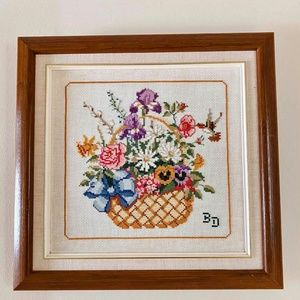 Vintage Needle Point